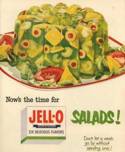 Jell-O molds